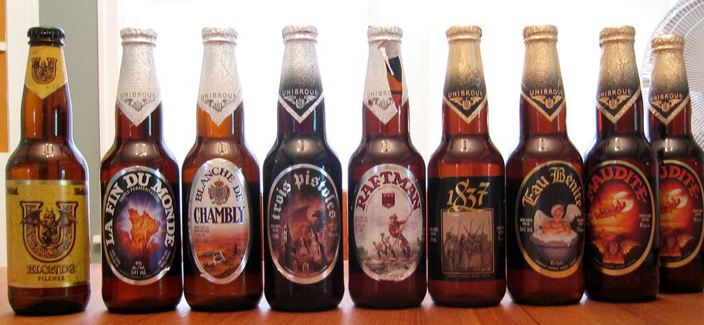 Beer topic Canada195_Unibroue_beer